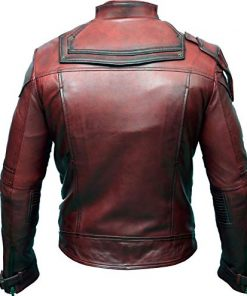 Peter Quill Avengers Infinity War Leather Jacket