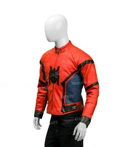Spider-Man Far From Home Peter Parker Leather Red Jacket.jpg