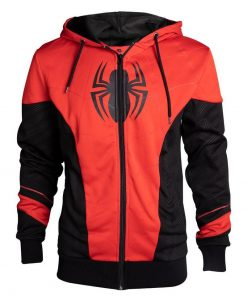 Spider Man Far From Home Peter Parker Zip Up Hoodie