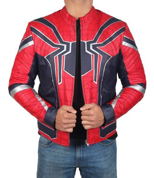 Spiderman Infinity War Leather Jacket