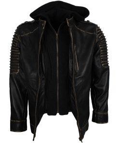 Suicide Squad Joker Black Biker Jacket