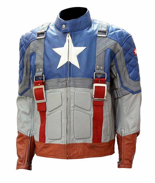 The First Avenger Steve Rogers Jacket