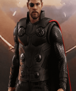Thor Avengers Infinity War Leather Jacket