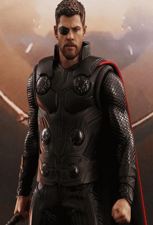 Thor Avengers Infinity War Leather Jacket