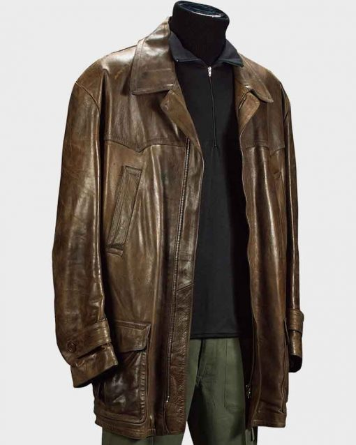 Tomorrow Never Dies James Bond Leather Jacket