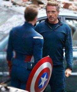 Tony Stark Endgame Blue Jacket