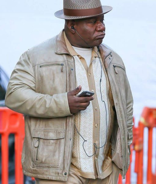 Ving Rhames Mission Impossible Fallout Leather Jacket