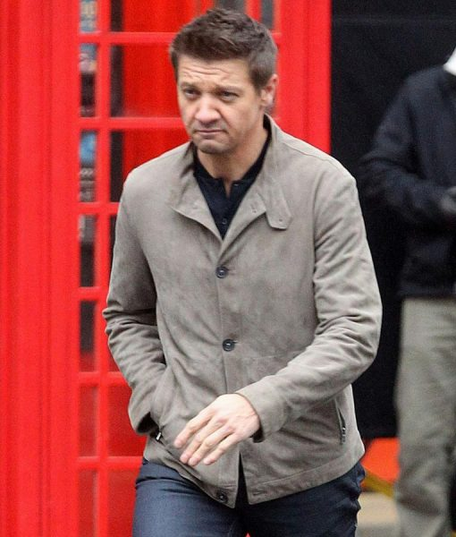 William Brandt Mission Impossible 5 Jeremy-Renner Gray Cotton Jacket