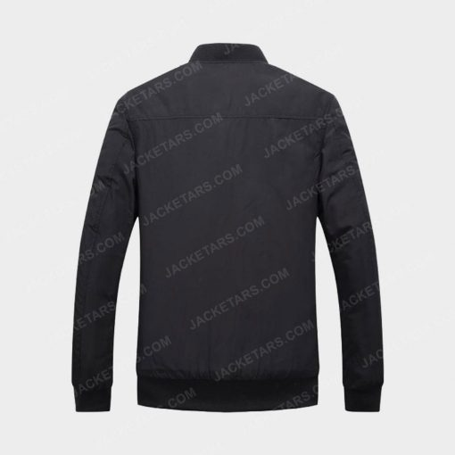 Men Hot Autumn and Winter Black Leather Jacket