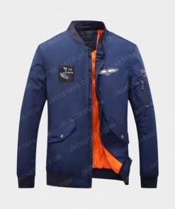 Men Hot Autumn and Winter Blue Jacket