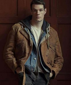 Adam Groff Sex Education Leather Jacket