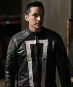 Agents of Shield Ghost Rider Black Jacket