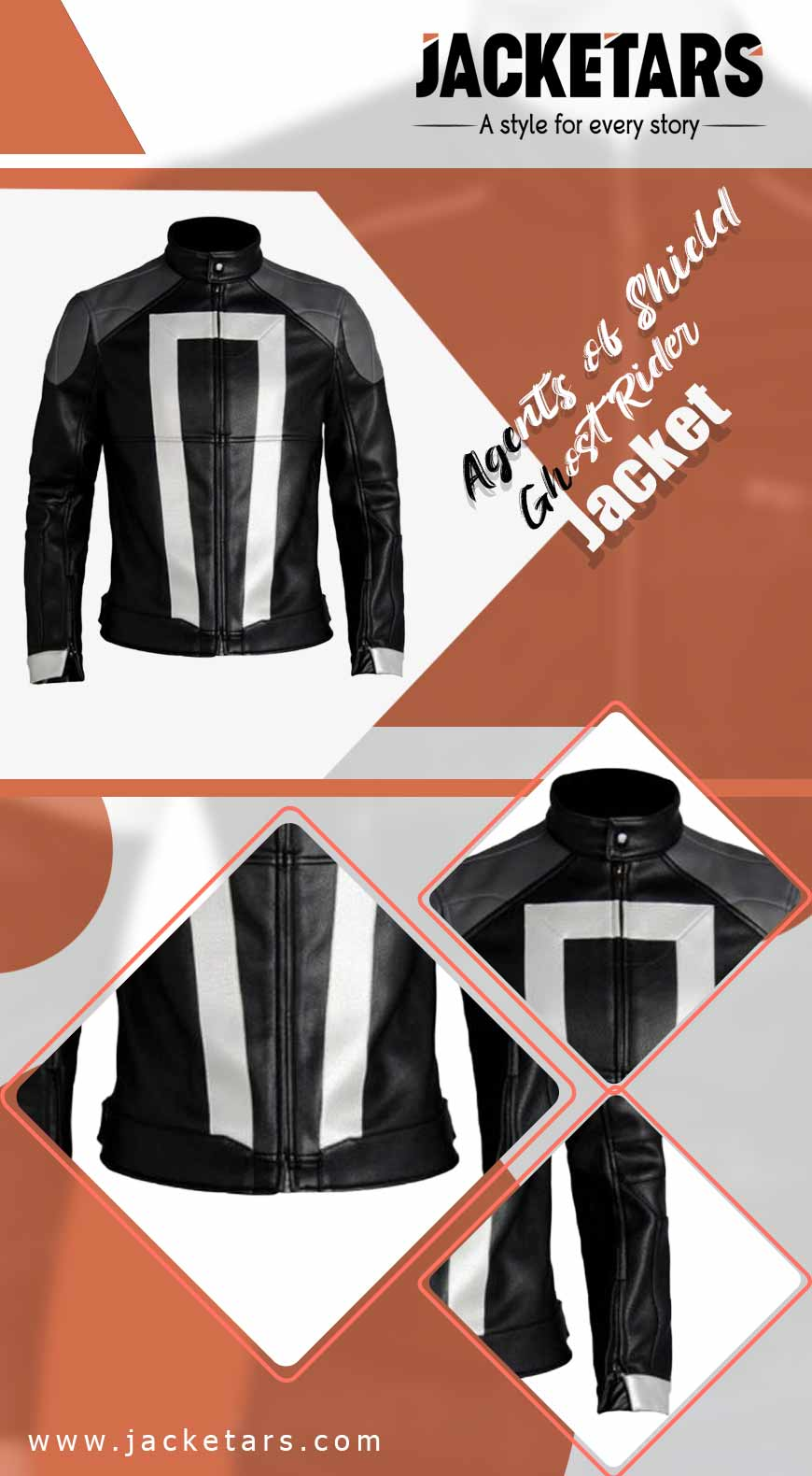 Agents of Shield Ghost Rider Jacket info