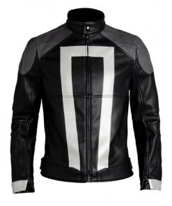 Agents of Shield Ghost Rider Leather Jacket