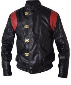 Akira Kaneda Black Leather Jacket