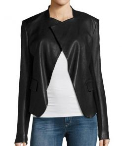 Arrow Dinah Drake Leather Drape Jacket