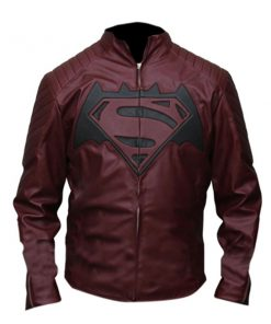 Batman vs Superman Dawn Of Justice Leather Jacket