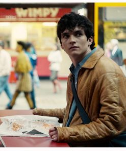 Black Mirror Bandersnatch Stefan Butler Leather Jacket