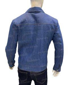 Brad Pitt Cliff Booth Denim Jacket
