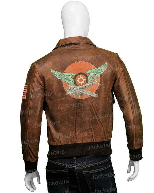 Captain Marvel Brie Larson Brown Leather Jacket
