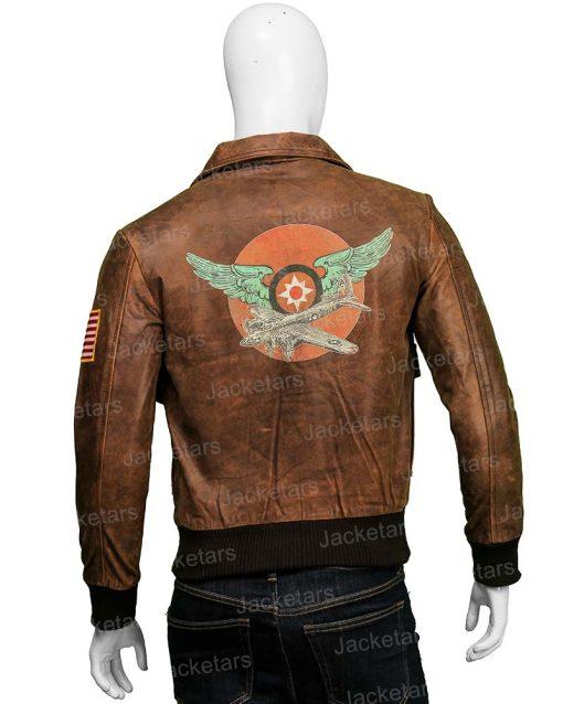 Captain Marvel Brie Larson Brown Leather Jacket