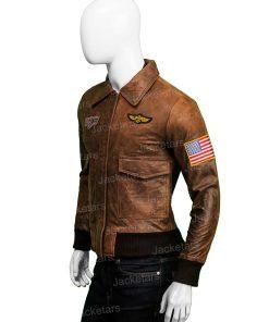 Captain Marvel Leather Jacket