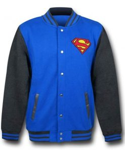 DC Comics Superman Varsity Jacket