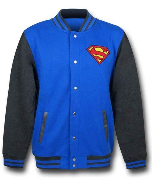 DC Comics Superman Varsity Jacket
