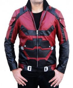 Daredevil Matt Murdock Charlie Cox Leather Jacket