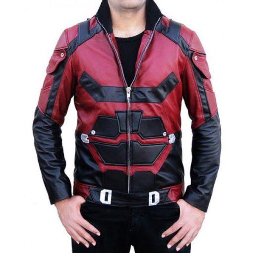 Daredevil Matt Murdock Charlie Cox Leather Jacket