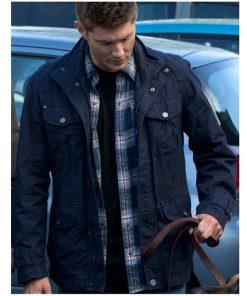 Dean Winchester Supernatural Blue Jacket