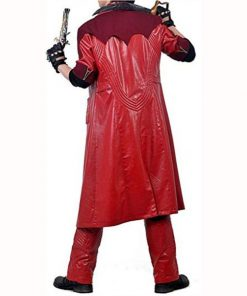 Devil May Cry 4 Dante Red Leather Coat