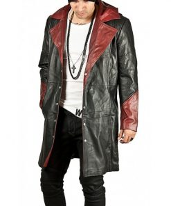 Devil May Cry Dante Trench Hoodie Coat