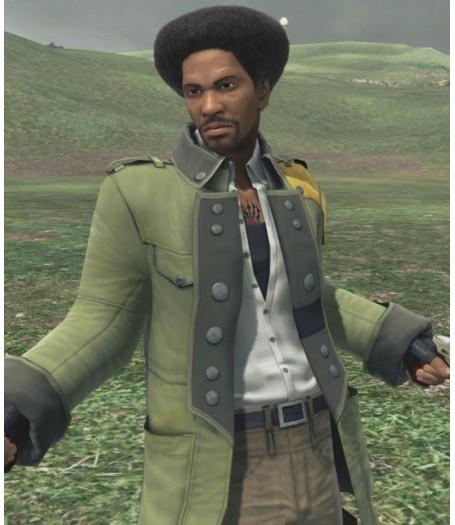 Final Fantasy 13 Lightning Returns Sazh Katzroy Green Coat