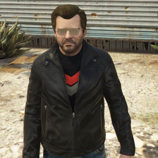 GTA 5 Michael Townley Leather Jacket