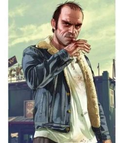 GTA 5 Trevor Philips Blue Jeans Jacket