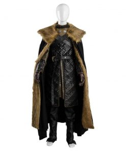 Game Of Thrones Jon Snow Leather Costume