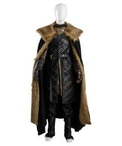 Game Of Thrones Jon Snow Leather Costume