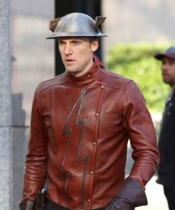 Jay Garrick The Flash Leather Jacket