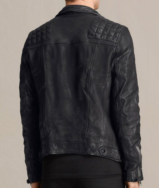 Lance Hunter Agents of SHIELD Black Leather Jacket