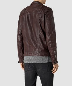 Lance Hunter Agents of SHIELD Brown Leather Jacket