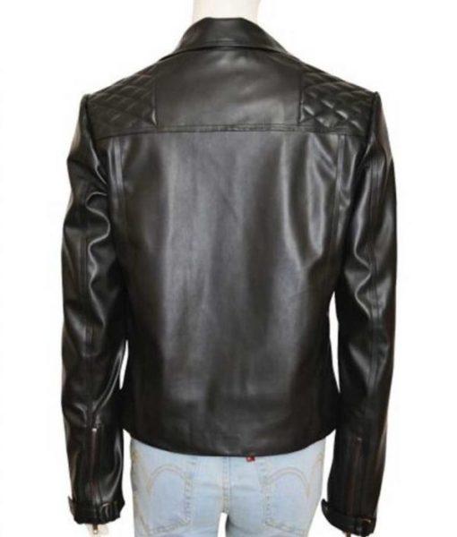 Lucifer Chloe Decker Black Leather Jacket