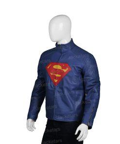 Man Of Steel Clark Kent Leather Jacket