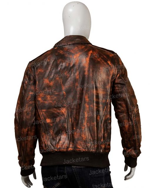Mens Distressed Leather Jackets
