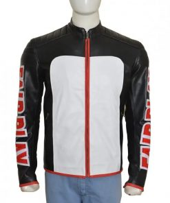 Mister Terrific Arrow Leather Jacket