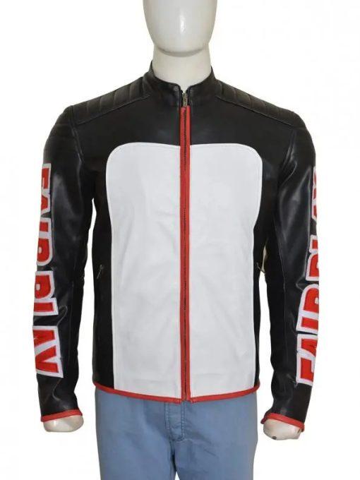 Mister Terrific Arrow Leather Jacket