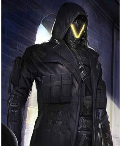 PUBG Season 11 Elite Agent Leather Trench Coat