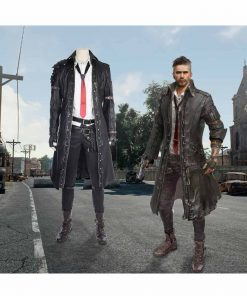 Playerunknown's Battlegrounds Black Coat