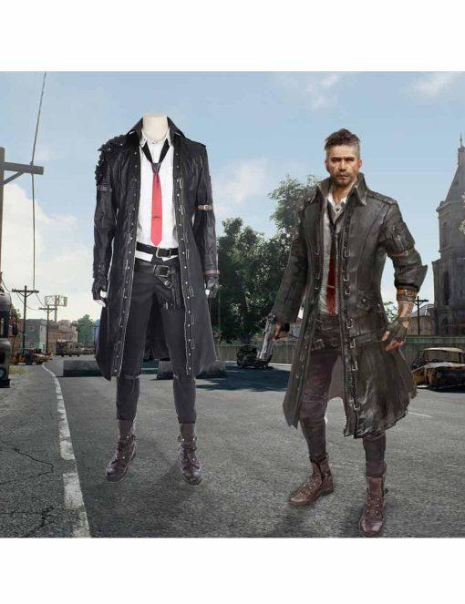 Playerunknown's Battlegrounds Black Coat