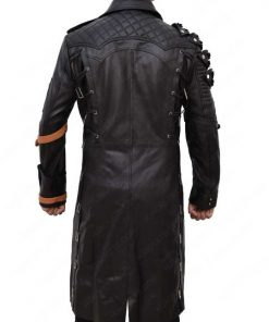 Playerunknown's Battlegrounds Black Leather Coat